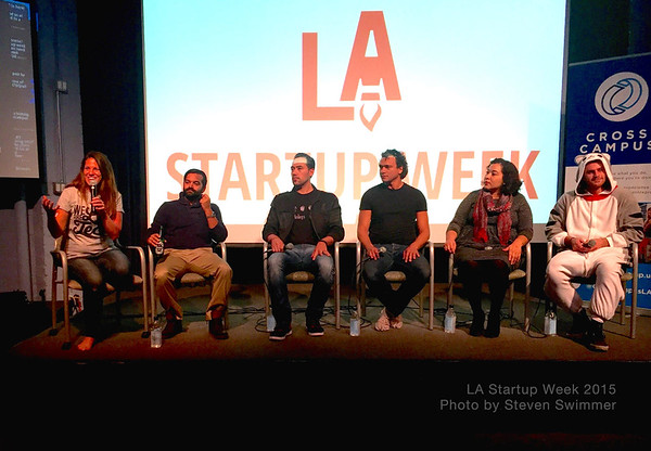 LA Startup Week moderated by WeAreLATech