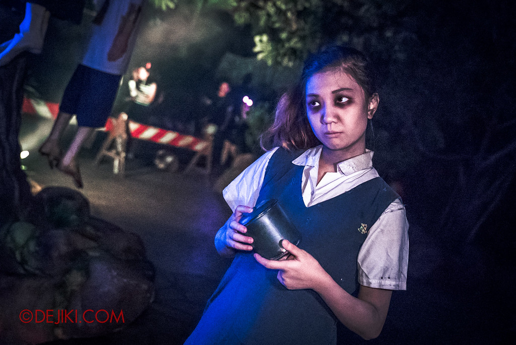 Halloween Horror Nights 6 Final Weekend - Suicide Forest / Student Corner Val