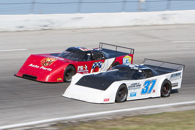 7-Up Twin 100's, Toledo Speedway, Toledo, OH, April 11, 2015