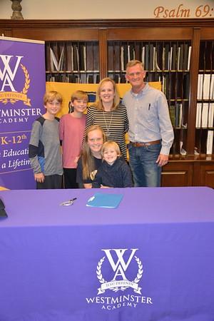 Ashton's Signing