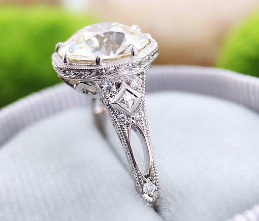 """The """"Sherry"""" Solitaire - Featuring a 2.74ct OEC Diamond"""