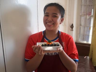 Grade 10 TLE Cooking Maki Sushi Rolls 2017
