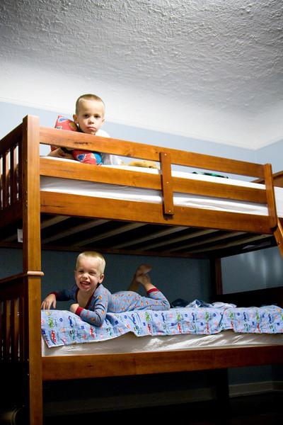 The Bunk Bed Milestone . . .
