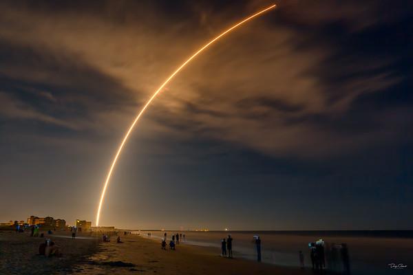 JCSAT 16 on a Falcon 9 Booster