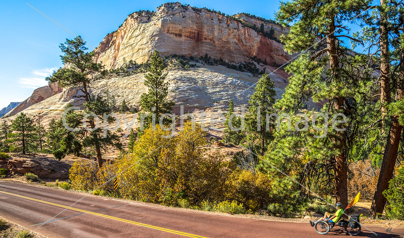 Recumbent Trike in Zion National Park
