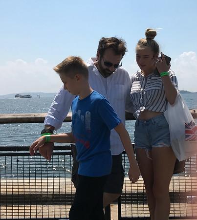 Statue of Liberty & Ellis Island Mary & Kids