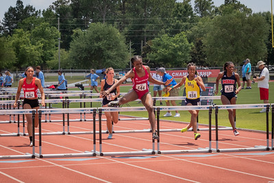 W 100m Hurdles Trials