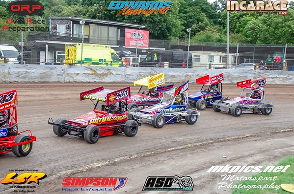Micro F2 Stockcars, Northampton I factor