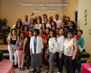 Mary Cooper Mother's Day Event