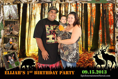 Elijah's 1st Birthday Party
