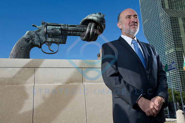 Israel Ambassador to the UN Ron Prosor portrait