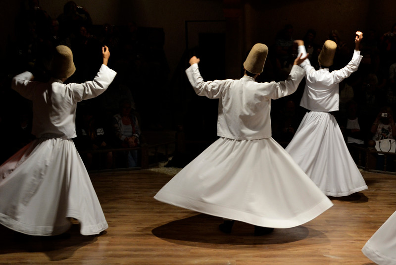 Whirling Dervish Show Pamukkale Turkey