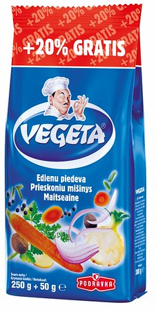 267099 PODRAVKA Vegeta 250g + 20% Gratis 3850104216466