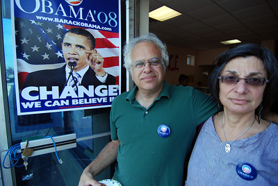 Working for Obama in Philly.