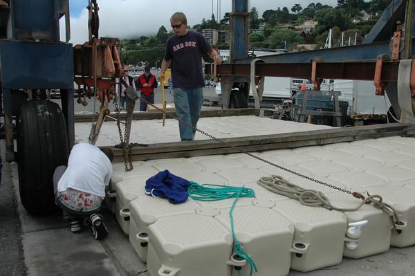 SYC New Jr. Sailing dock 6/9/10