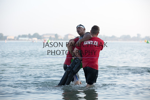 Olympic triathlon tryouts at Belleisle for 2016