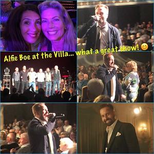 Alfie Boe at the Villa 2019