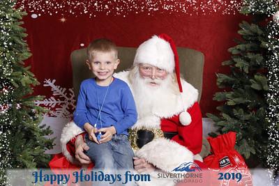 Silverthorne Santa 2019