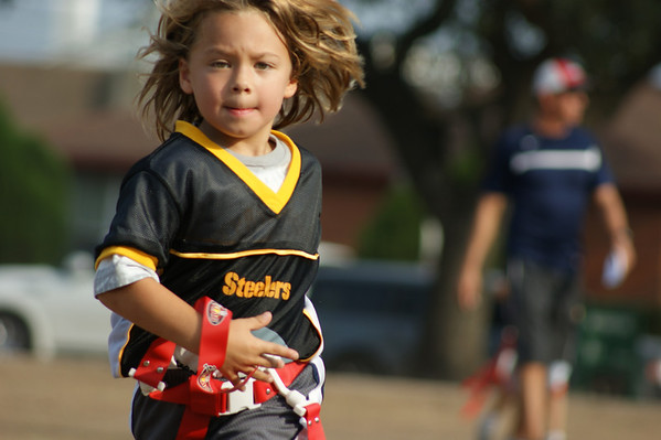 YMCA Flag Football - Fall 2011 - Steelers