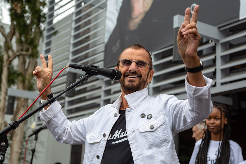 2019_07_07, Birthday, CA, Capitol Records, Los Angeles, Ringo, Ringo Starr