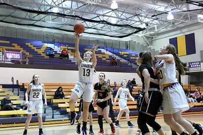 Lady Laker Basketball Senior Night vs Waynesville