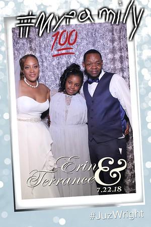 Erin and Terrances Wedding Mirror Booth