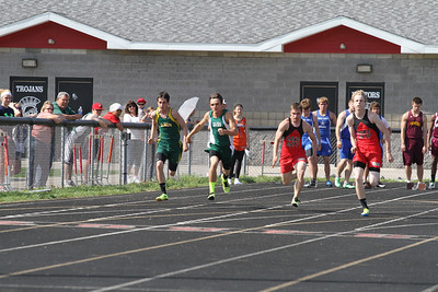 2013 MHSAA Highland Conference Boys 100 Meter