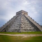 Chitchen Itza mayan pyramid, Yucatan, Mexico