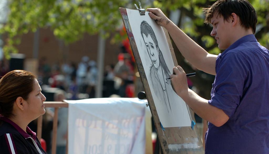 . Chaffey College celebrates its �130th�anniversary in Rancho Cucamonga March 9, 2013. (Thomas R. Cordova/Staff Photographer)