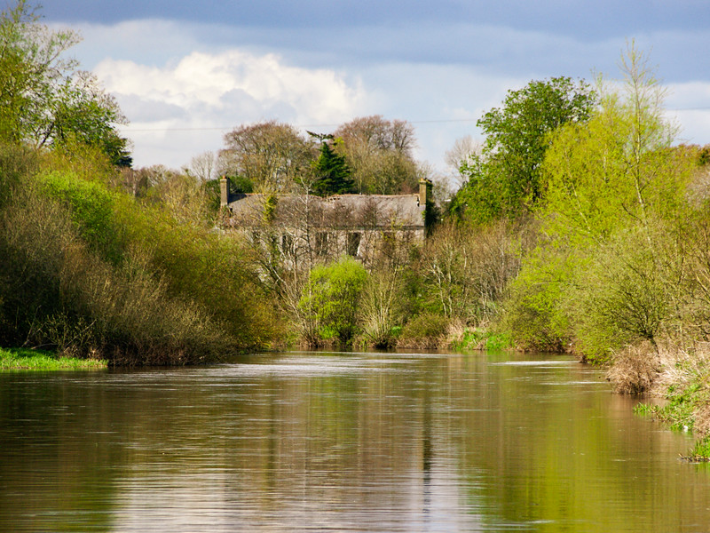 Barrow towpath south of Athy