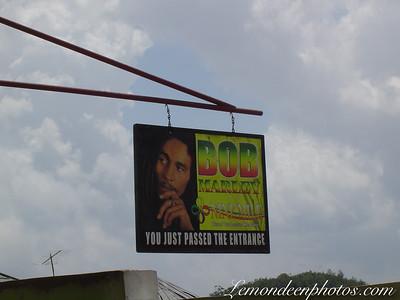 La Maison et le Tombeau de Bob Marley à Nine-Miles