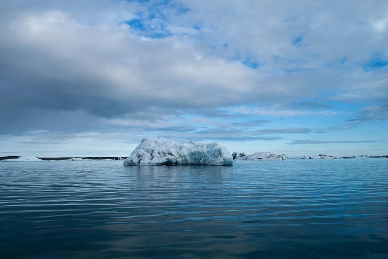 iceburg in the lagoon