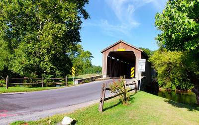 Hunsecker and Shencks Mills Covered Bridges