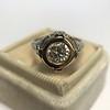 1.02ct Round Brilliant Diamond Bezel Ring 16