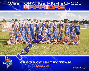 West Orange Cross Country Team