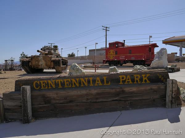 Centennial Park - Barstow, CA - M47