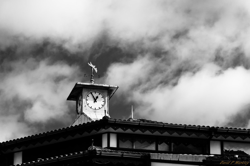 Clock in the Clouds