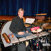"""Adam Snyder on drums for """"Once On This Island"""""""