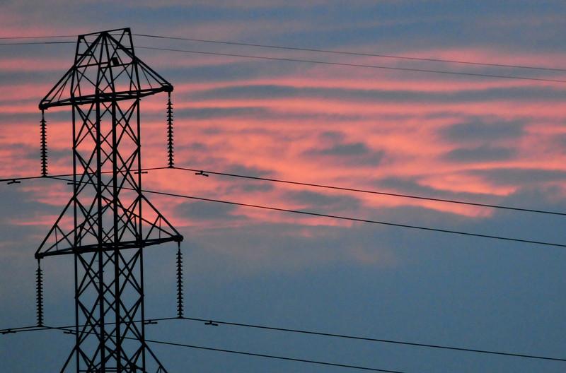 Sunset wishing I had a better backdrop