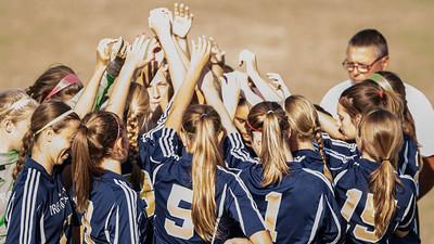 2012 PHS Girls Soccer vs Forest Park