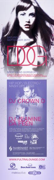 Drop Dead Gorgeous @ Fahrenheit Ultra Lounge 9.26.09