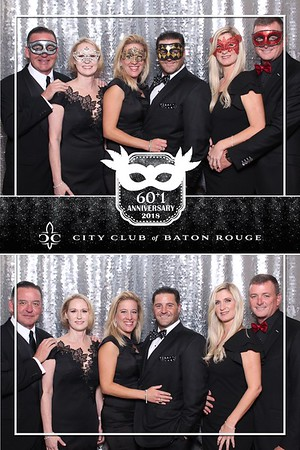 60+1 Anniversary Party City Club of Baton Rouge 10.25.18 @ City Club of Baton Rouge