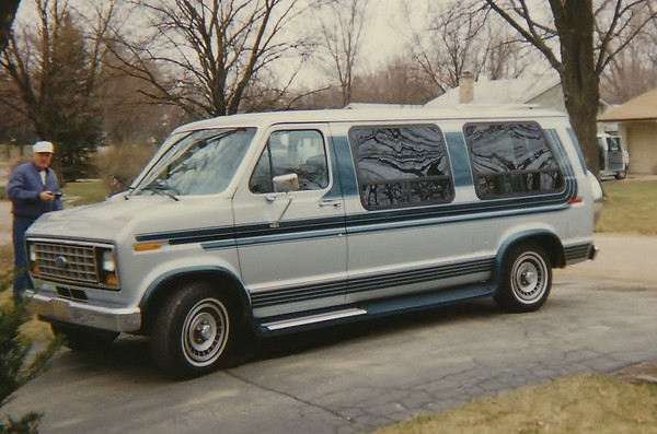 1st Ford Econoline Conversion Van