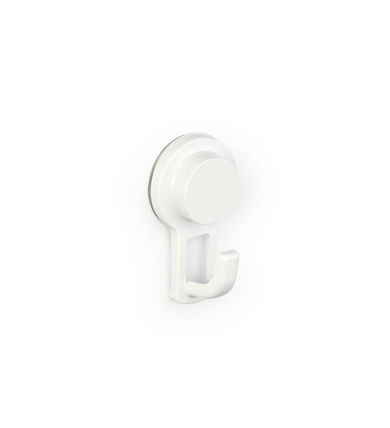 Gelmar Perma Power Suction Bathroom Hook White
