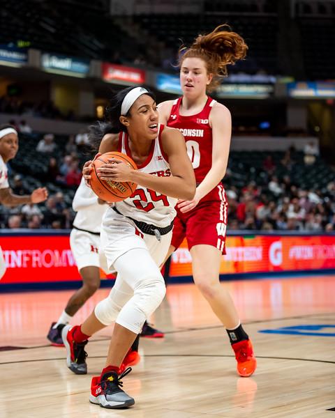 Big Ten Women's Tourney Wisconsin vs. Rutgers