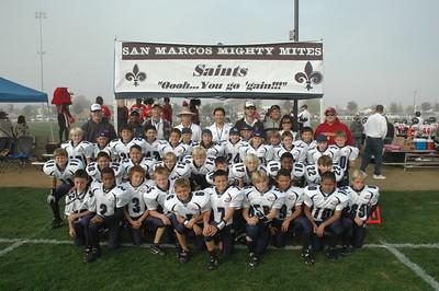 2009 Saints Chocolate Bowl:Set 2