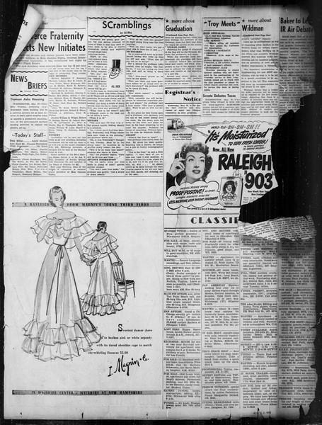 Daily Trojan, Vol. 38, No. 144, May 28, 1947