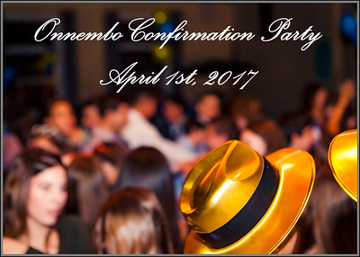 Onnembo Confirmation Party 2017-0401