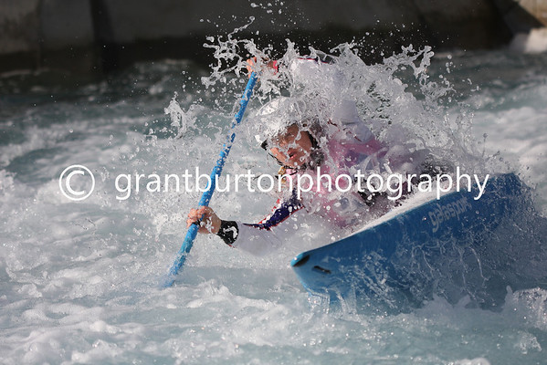 Final British Slalom Canoe Open 2013 - Women's Canadian WC1