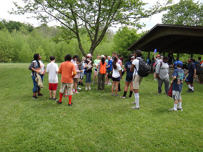 5.16.13 Watershed Scavenger Hunt With Bonnie Branch Middle School at Patapsco State Park